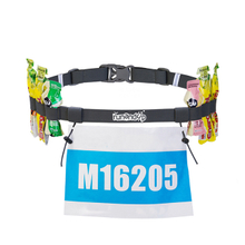 Custom Adjustable Elastic Triathlon Race Number Belt RU81066