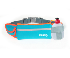 BF16005 Neoprene Materail Runners Pack Sports Waist Bag with Water Bottle Holder