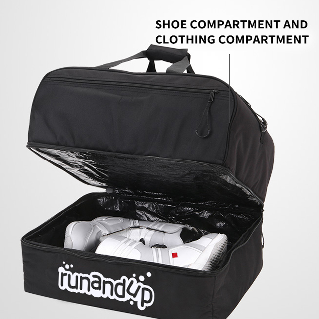 RU81073 Professional Ski Boot Bag with Good Quality And Competitive Price Ourdoor Travel Skiing Snowboard Pack