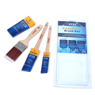 One Unit in Blister Packing Customized Paint brush Kit for Private Label