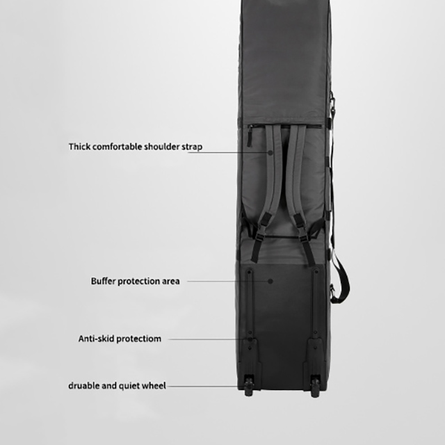 Wheeled Fashion Skiing Snowboard Bag RU81077