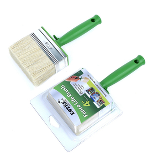Replaceable Fence Paint Brush with Blist Packing