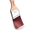 Faded Synthetic Paint Brush with Short Wooden Handle