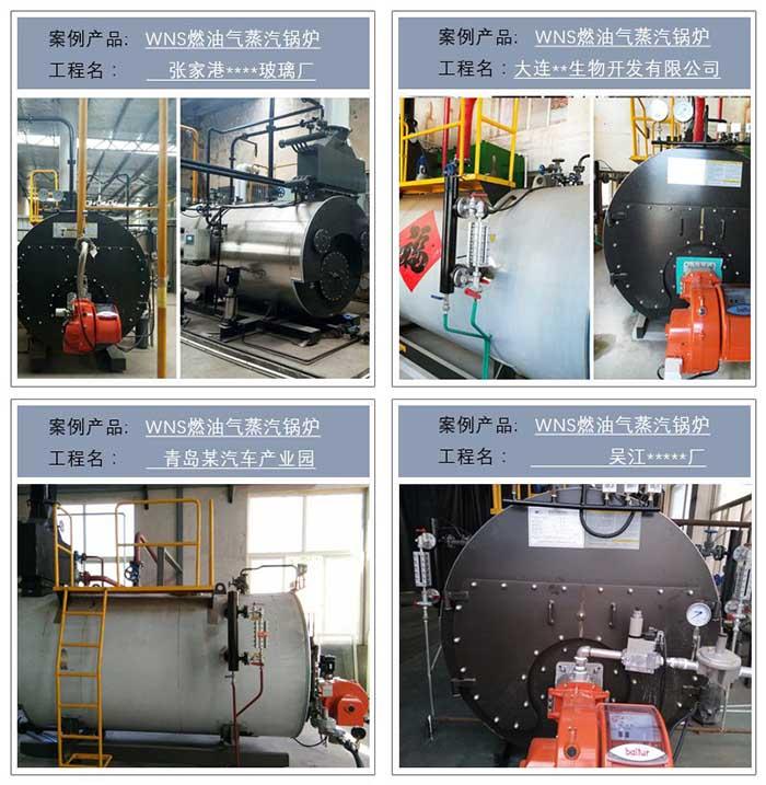WNS燃油氣蒸汽鍋爐案例--