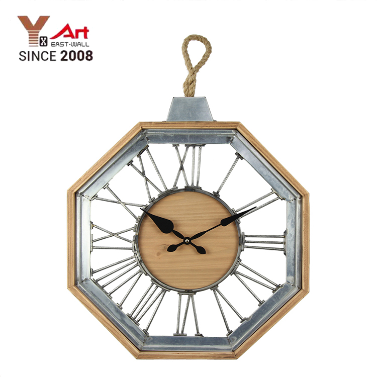Cheap Art Work Craft Iron Wholesale Wall Large Industrial Clocks
