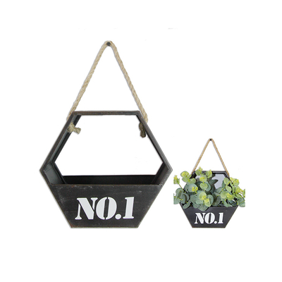 Outdoor Balcony Wrought Iron Flower Hanging Basket 4 Models Can Choose