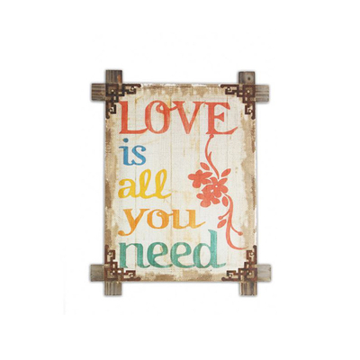 Cheaper Price Rustic Wall Plaque Indian Wall Hanging Art Decor Road Sign Decorations