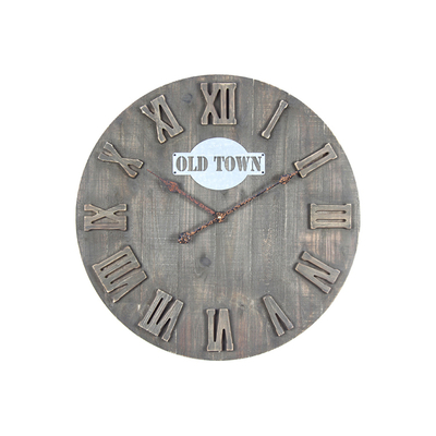 Good Prices Customized Design Vintage Style Wall Home Decor Clock Waste Material Art Craft