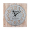 Chinese Factory Custom Square Shape Wall Clock Modern Wholesale