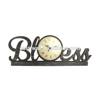 vintage black bless roman numerals unusual clocks for sale