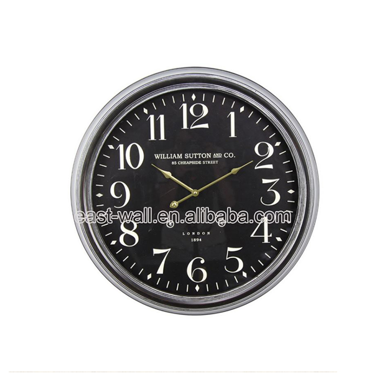 Clearance Price Manufacturers Led Digital Clock Wall Mounted Country Style Wall Clock