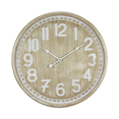 2018 Fashion New Modern Wooden Home Decoration Wall Clock