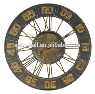 Out Minutes In Hours Sunburst Antique French Wall Clocks