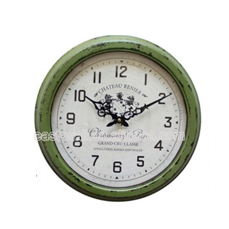 Luxury Quality Antique Style Luxury Wall Parts Analog Clock