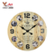 Nice Quality Direct Factory Price Vintage Style Antique Wooden Pendulum Wall Clock