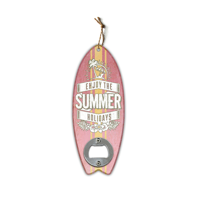 1Pc Vintage Surfboard Shapes Wall Bottle Openers Bar Restaurant Wall Decor MDF Ornaments