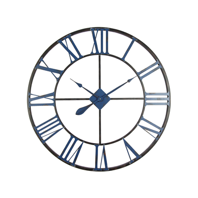 2019 New Arrival Modern Design Vintage Wall Hanging Metal Oem Clock