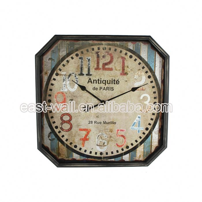 Good Quality Cheap Price Custom Made Metal Big Size Wall Clocks Clock
