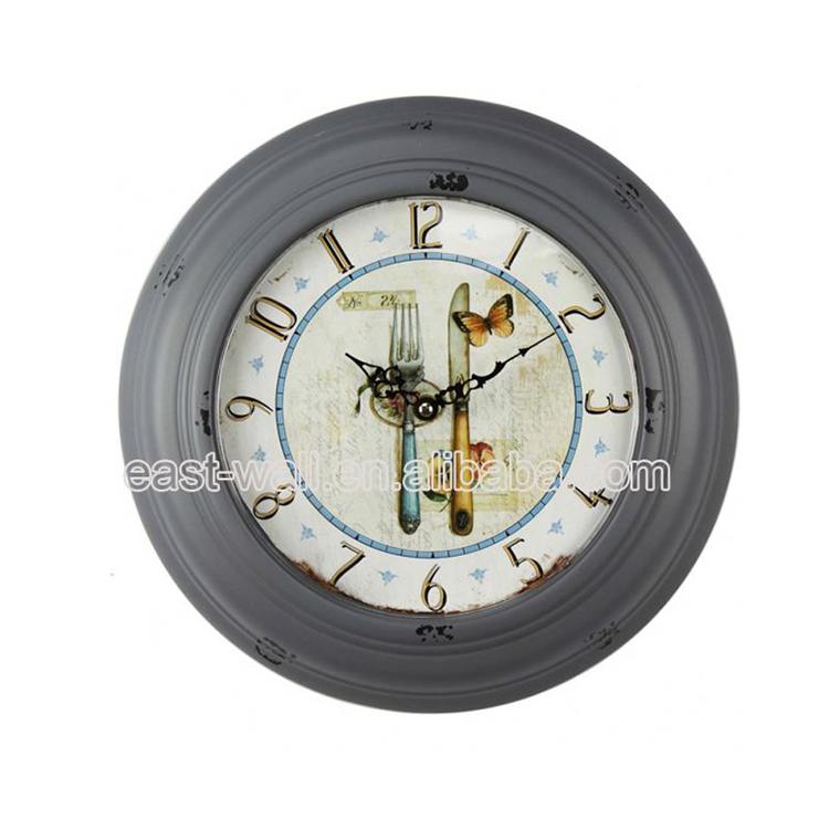 Good Quality Vintage Style Acrylic Gps Wall Clock