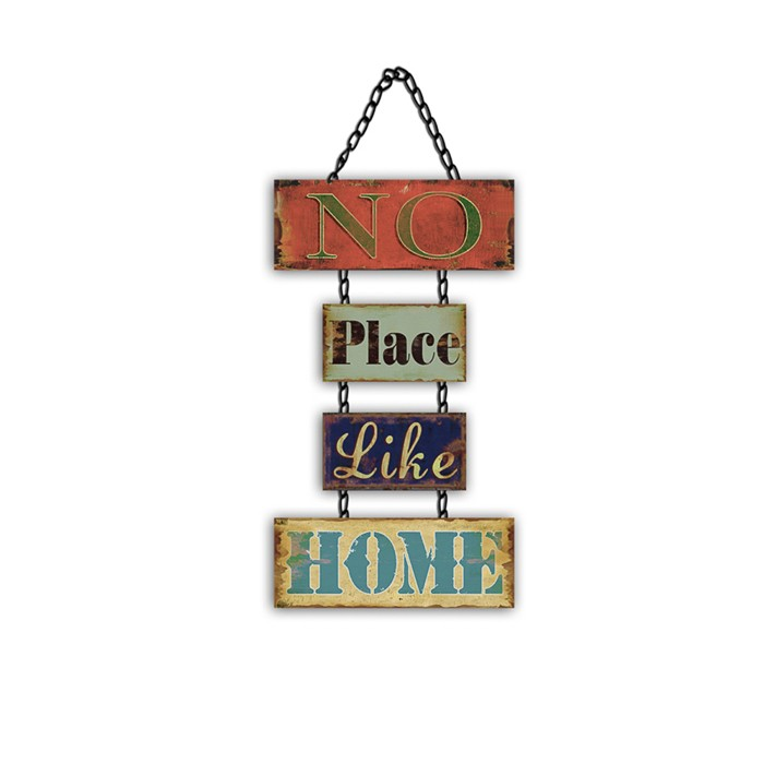 Factory Price Custom Wall Plaques Blank Iron Wall Hanging Sign
