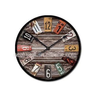 Manufacturers Chic Hanging Double Side Wall Clock Theme Clocks