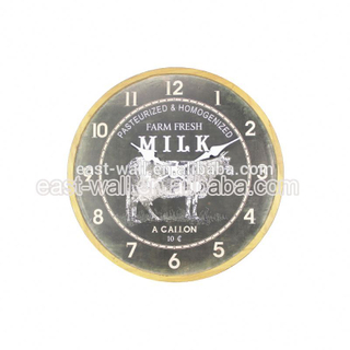 Factory Direct Price Custom Color Creative Items Ajanta Wall Clock Models