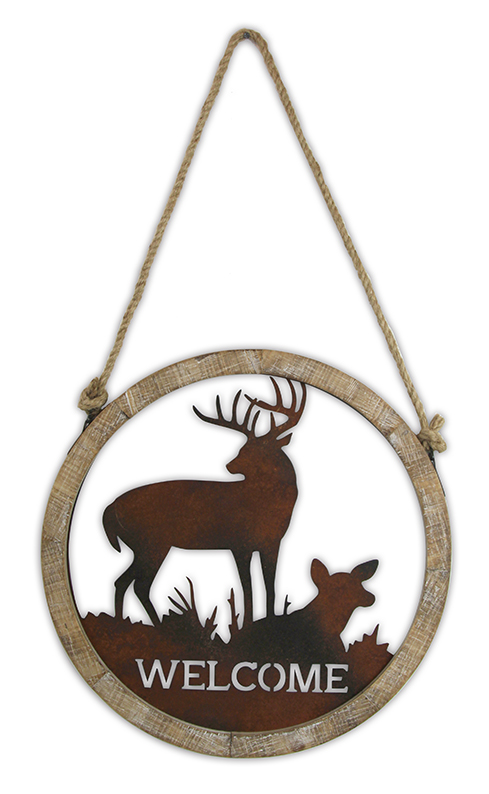 Cheap Prices Hanging Wood Sign Christmas Decorative Home Wall Plaque