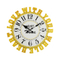 Yellow Letters Surround Creative Digital Meeting Room Wall Clock