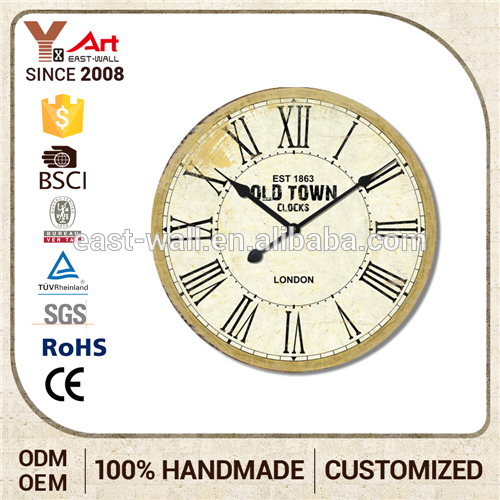 Promotional Elegant High Quality Large Clocks For Walls Home Decoration