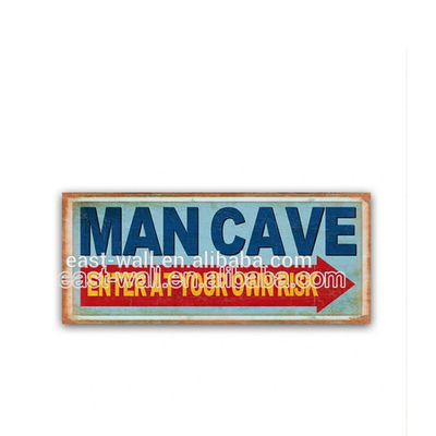 Wall Art Paintings Sign Stakes Metal Wall Signs Man Cave Custom Letter Plaque