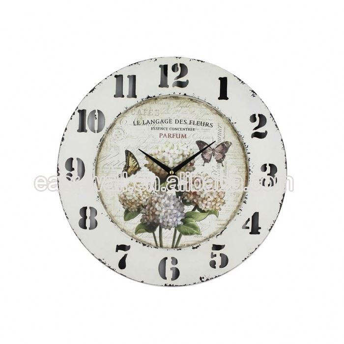 Embroidery Design Custom Fit Fancy Star Shape Dentist Gift Wall Clock