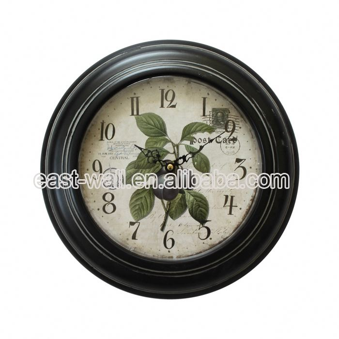 Samples Are Available Custom-Made Home Decoration Settler Design Smiley Clock