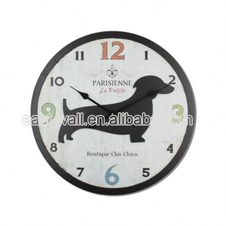 Hot Quality Make To Order Mdf Personalized Custom Logo Contemporary Wall Clock Clocks