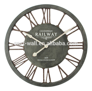 CALEDONIAN RAILWAY Design Round Plain Wall Clock