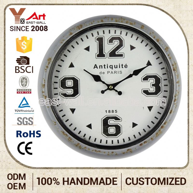Promotional Price New Coming Custom Design Transparent Wall Clocks Sunrise Clock