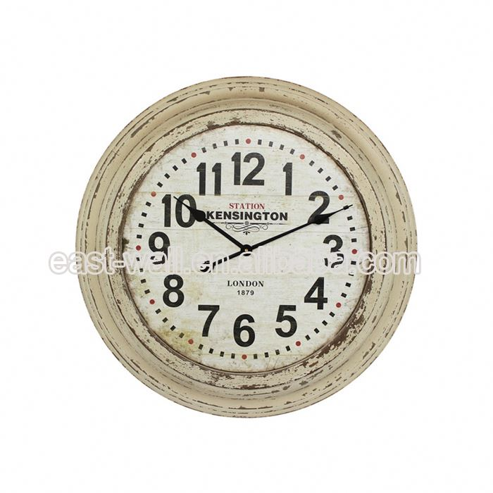 Quality Assured Wholesale Mdf Master Arabic Numerals Wall Clock System