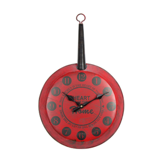 EA6529 Stylish Very Nice Looking Digital Decorative Red Wall Clock