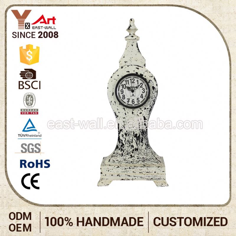 Hot Wholesale Price Custom Logo Clock For Old People Insert Metal Bezel