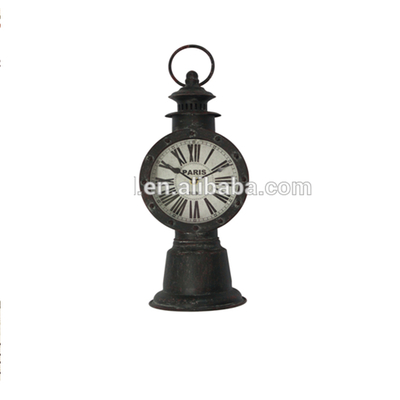 Home Decoration Art Work Craft Metal Unusual Table Clock
