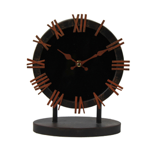 Antique Iron Desk Table Clock Craft Wall Clocks Unique With No Shell