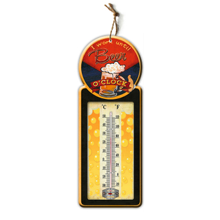 Popular gift indoor decorative room temperature wall thermometer