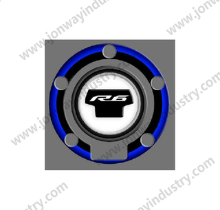 Fuel Tank Cap Sticker For YAMAHA YZF R6