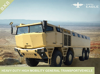 Heavy-duty High Mobility General Transport Vehicle