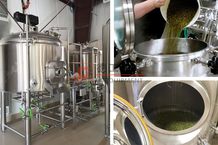 brewhouse and adding hops-min