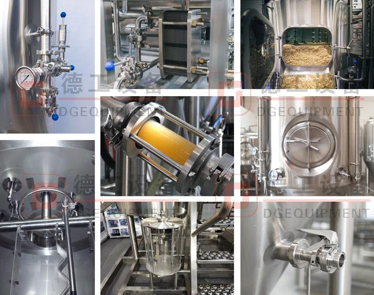 beer brewing equipment details