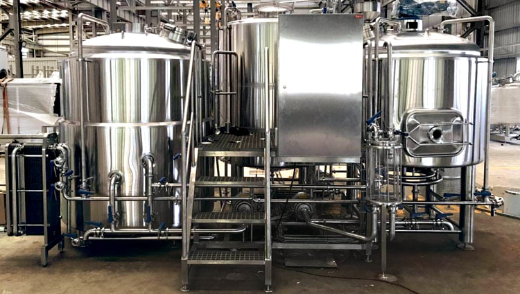 1000L Beer brewhouse