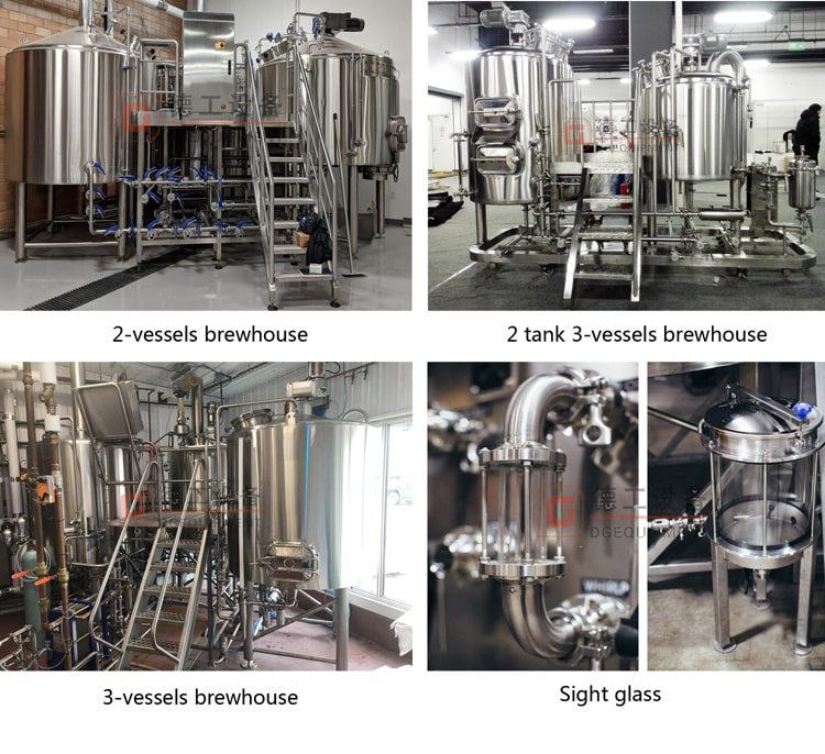 customized beer brewhouse