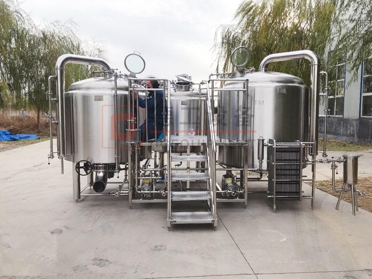 2000L beer brewhouse