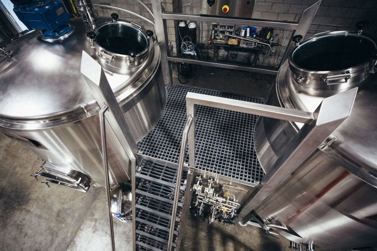 platform beer brewhouse