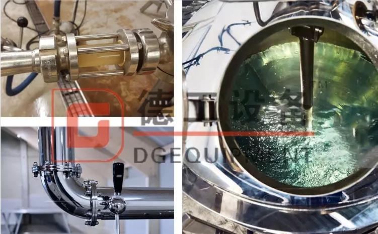 beer kettle tank agitator